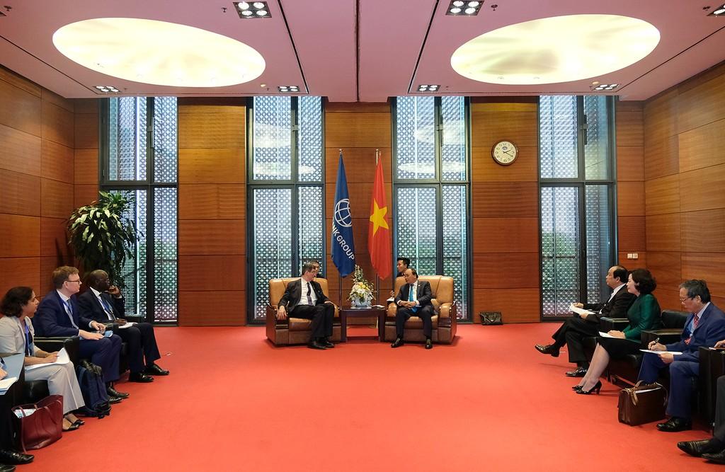 Thủ tướng tiếp Tổng Giám đốc điều hành Ngân hàng Thế giới - ảnh 1