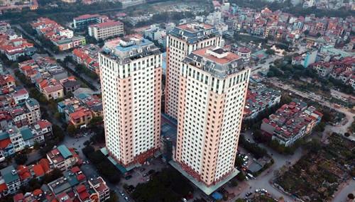 Toà nhà CT1 Xa La (3 đơn nguyên) là một trong 29 chung cư vi phạm PCCC chưa được khắc phục.