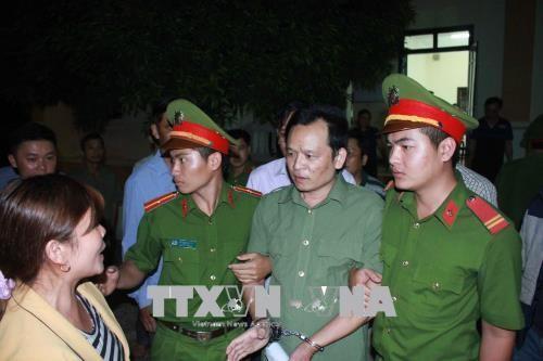 Bị cáo Phạm Xuân Sáng. Ảnh: TTXVN