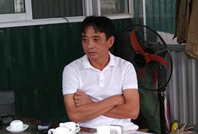 Ông Lê Quý Dương, Chủ tịch HĐQT Cty Cổ phần Dịch vụ SHI, đơn vị quản lý bãi xe 24 Đặng Tiến Đông.