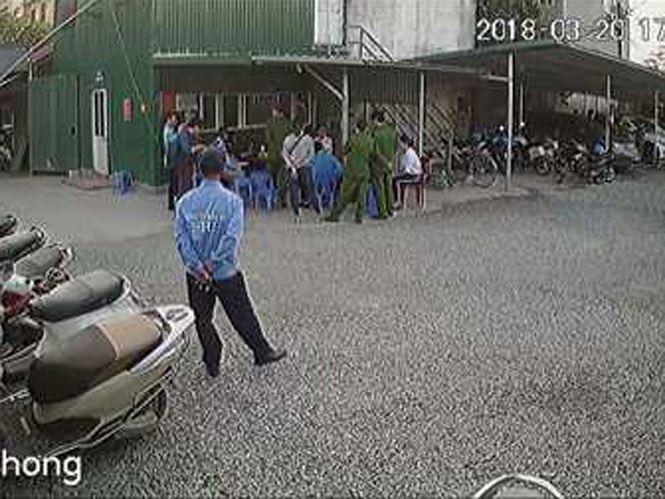 Triệu tập 8 bảo vệ liên quan vụ dọa giết Phó trưởng Công an quận - ảnh 1