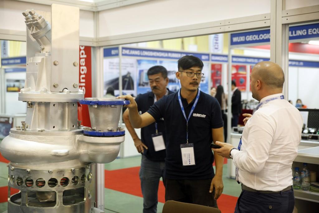 Mining Vietnam 2018 thu hút hơn 170 doanh nghiệp đến từ 22 quốc gia và vùng lãnh thổ.