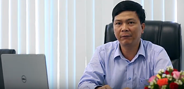 Bị can Nguyễn Thanh Sơn, Phó Tổng Giám đốc Công ty Dương Đông Hòa Phú.