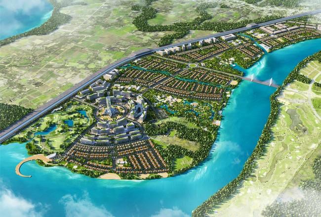 Quy hoạch dự án Khu đô thị du lịch Long Tân, huyện Nhơn Trạch (Đồng Nai).