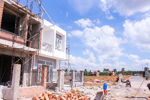 """Giá đất ở TP HCM đang tăng """"chóng mặt""""."""