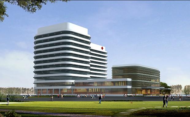Dự án là Liên doanh liên kết lắp đặt máy gia tốc xạ trị và CT mô phỏng tại Trung tâm Xạ trị và Y học hạt nhân Bệnh viện Ung bướu Nghệ An. Ảnh Internet
