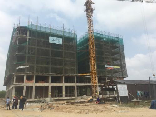 Dự án nhà ở giá rẻ của Bita's tại Bình Thuận đang trong giai đoạn hoàn thiện.