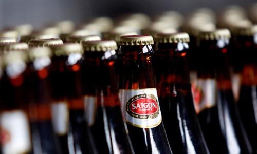Bia chai sản xuất tại Tổng công ty Bia, rượu, nước giải khát Sài Gòn.