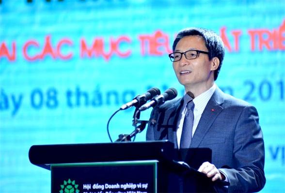 Phó Thủ tướng Chính phủ Vũ Đức Đam làm Chủ tịch Hội đồng Quốc gia về Phát triển bền vững và Nâng cao năng lực cạnh tranh