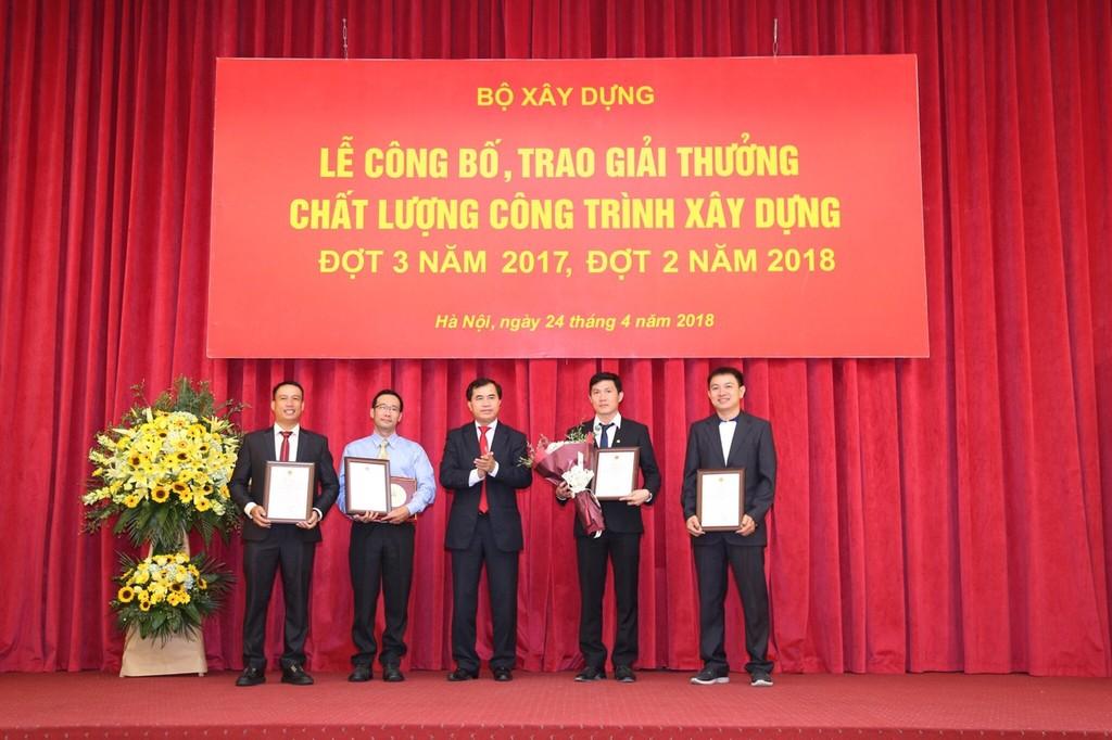 5 công trình của nhà thầu Hòa Bình nhận Giải thưởng Công trình xây dựng chất lượng cao
