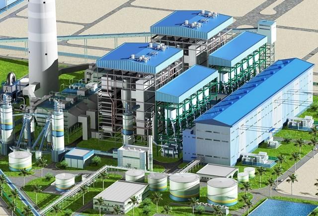 Phối cảnh dự án Nhà máy Nhiệt điện BOT Hải Dương. Ảnh Internet