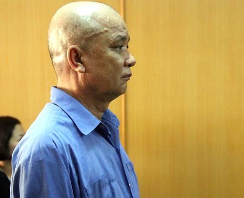 Bị cáo Luông tại tòa.