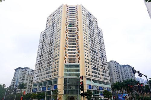Chung cư Golden Field nằm ở ngã tư Nguyễn Cơ Thạch - Hàm Nghi.
