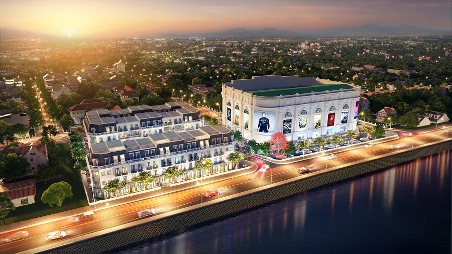 Vingroup chính thức ra mắt Vincom Shophouse Hòa Bình - ảnh 1