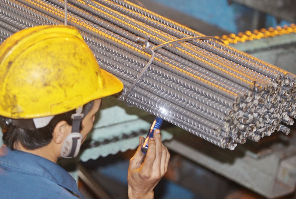 Thép Hòa Phát có đơn đặt hàng thép xây dựng 6.500 tấn  từ Úc. Ảnh: Tường Lâm