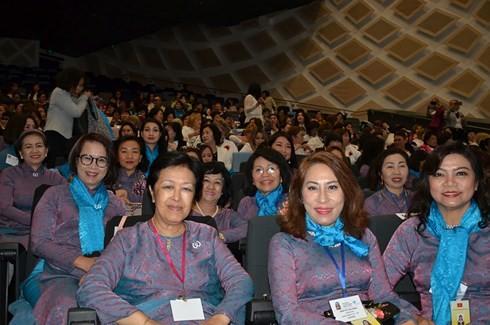 Phó Chủ tịch nước tham dự Lễ khai mạc Hội nghị Thượng đỉnh Phụ nữ Toàn cầu - ảnh 1