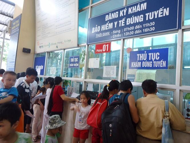 BHXH Việt Nam cho biết, tính đến ngày 24/4/2018, các cơ sở y tế đã gửi 49,9 triệu hồ sơ lượt khám chữa bệnh.  Ảnh Internet