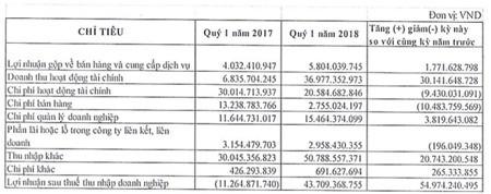 Saigon Water (SII): Quý 1 lãi 44,5 tỷ đồng hoàn thành 48% mục tiêu cả năm 2018 - ảnh 1