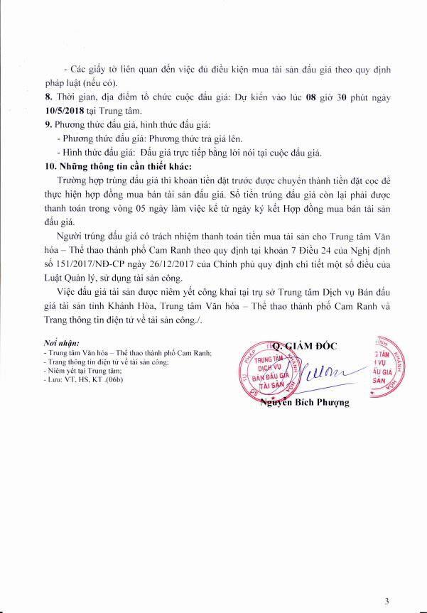Đấu giá xe ô tô tại Khánh Hòa - ảnh 3