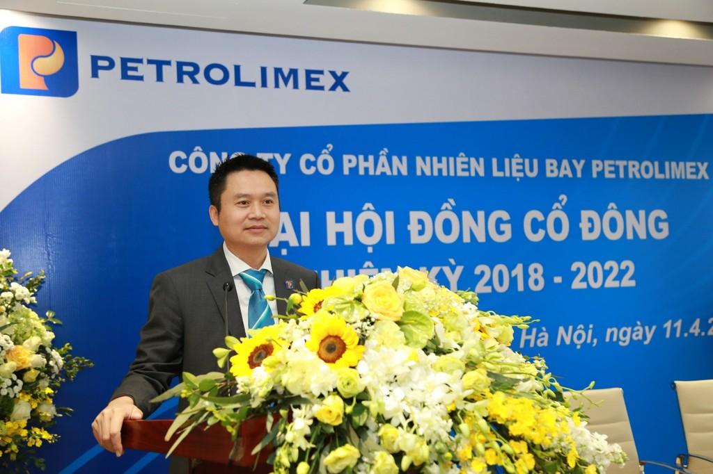 Ông Phạm Văn Thanh (Ảnh:Petrolimex Aviation)