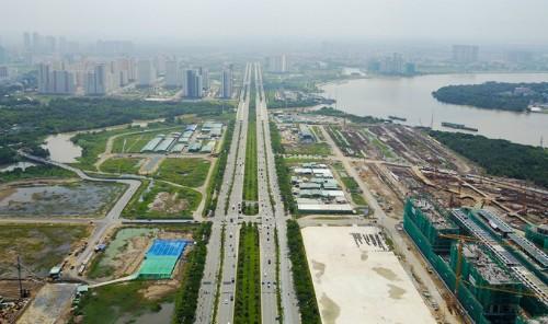 Hình hài khu đô thị Thủ Thiêm sau hơn 20 năm quy hoạch.