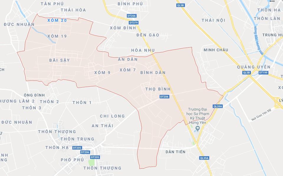 Dự án Khu nhà ở để bán và Trung tâm thương mại dịch vụ Bắc Việt tại xã Tân Dân, huyện Khoái Châu,  Hưng Yên