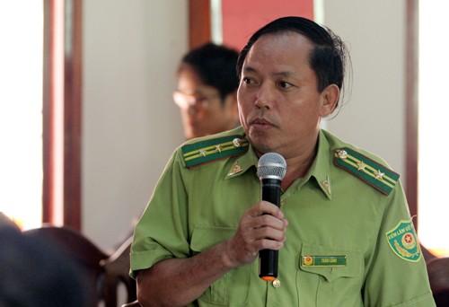 Ông Trần Lanh bị cách chức Hạt trưởng Kiểm lâm rừng phòng hộ Nam Sông Bung.