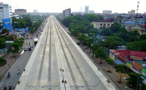 Đề xuất khai thác đoạn trên cao đường sắt Nhổn - ga Hà Nội từ năm 2020 - ảnh 1