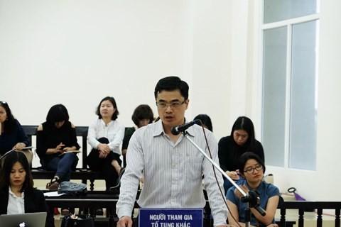 Ông Trần Thanh Quang có mặt tại phiên tòa phúc thẩm từ 3/5
