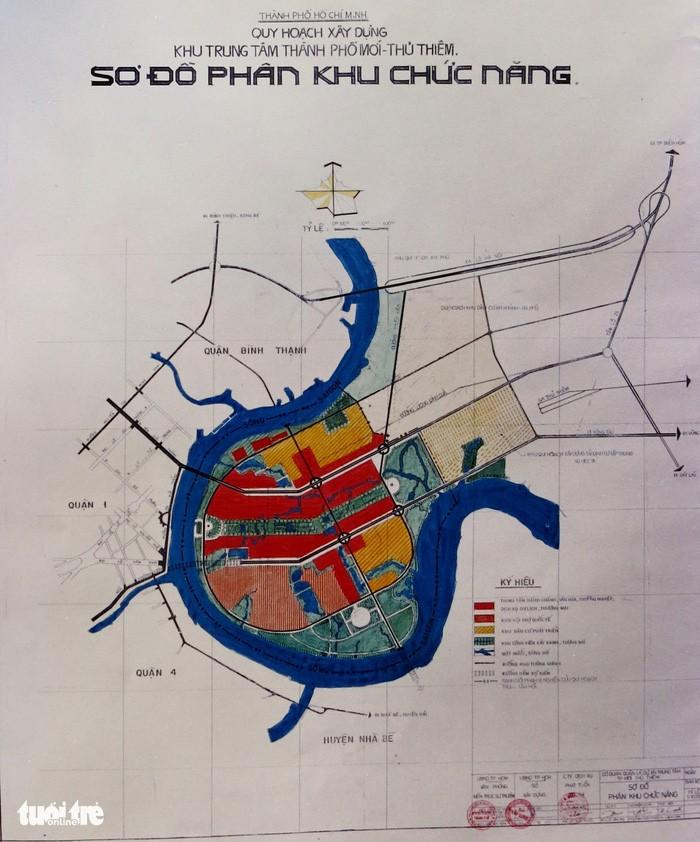 Ông Võ Viết Thanh công bố 13 bản đồ quy hoạch Thủ Thiêm 1/5000 - ảnh 9