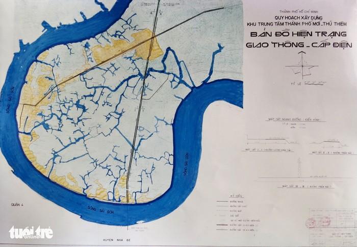 Ông Võ Viết Thanh công bố 13 bản đồ quy hoạch Thủ Thiêm 1/5000 - ảnh 10