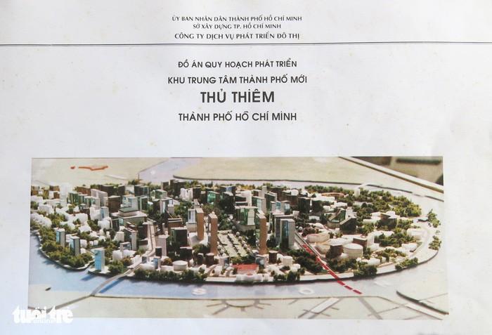 Ông Võ Viết Thanh công bố 13 bản đồ quy hoạch Thủ Thiêm 1/5000 - ảnh 1