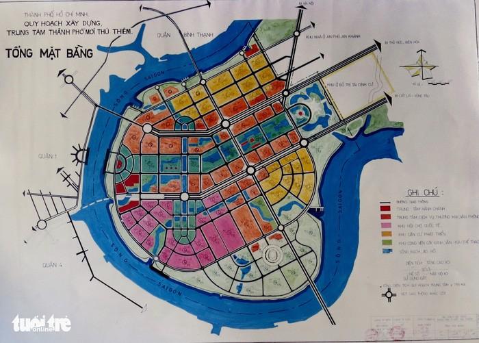 Ông Võ Viết Thanh công bố 13 bản đồ quy hoạch Thủ Thiêm 1/5000 - ảnh 2