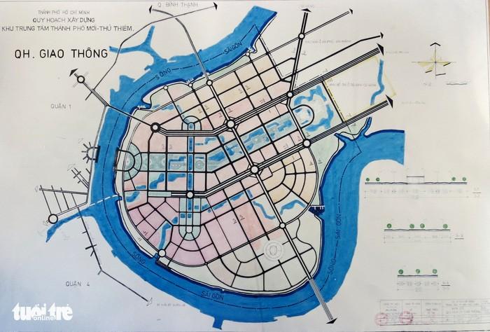 Ông Võ Viết Thanh công bố 13 bản đồ quy hoạch Thủ Thiêm 1/5000 - ảnh 8