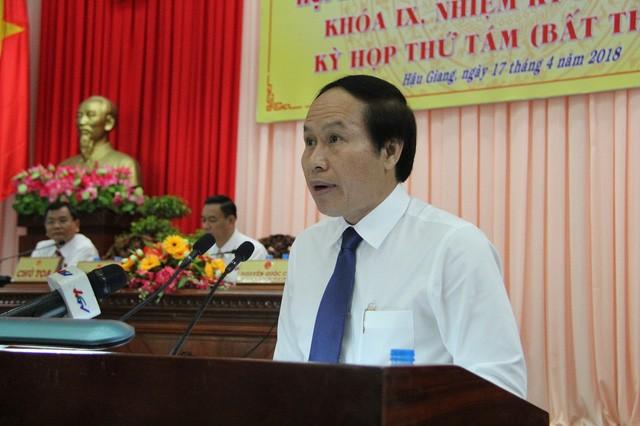 Thủ tướng chính thức phê chuẩn kết quả bầu ông Lê Tiến Châu làm Chủ tịch UBND tỉnh Hậu Giang