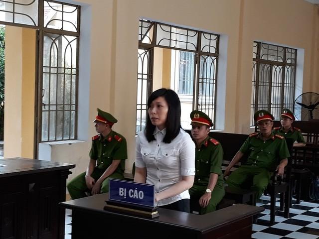 Bị cáo Xuân tại phiên tòa