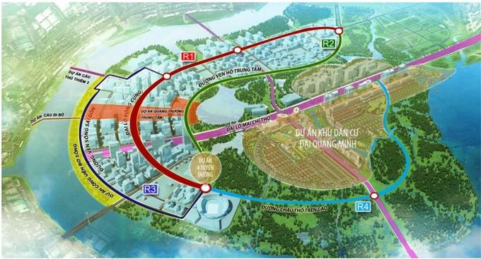 Hiện trạng bốn tuyến đường giá 12.000 tỷ đồng ở Thủ Thiêm - ảnh 11