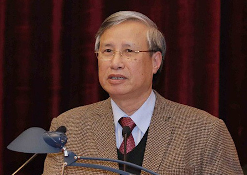 Ông Trần Quốc Vượng, Uỷ viên Bộ Chính trị, Thường trực Ban bí thư. Ảnh: P.V