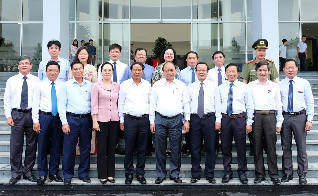 Chùm ảnh: Thủ tướng tiếp xúc cử tri Hải Phòng - ảnh 3