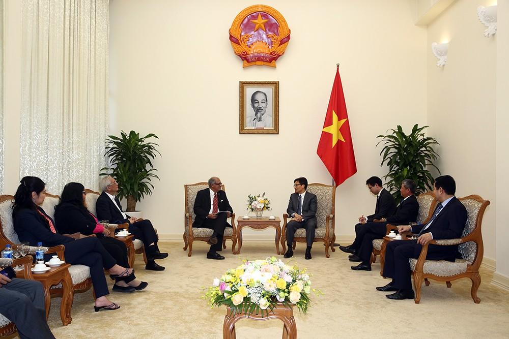 Phó Thủ tướng tiếp lãnh đạo liên minh CNTT-TT châu Á-Thái Bình Dương - ảnh 1