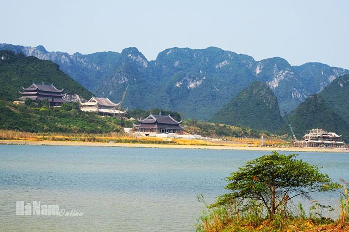 Khu văn hóa tâm linh Tam Chúc - Ảnh: Báo Hà Nam Online