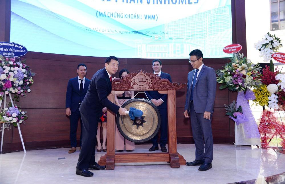 Vinhomes chính thức niêm yết 2,68 tỷ cổ phiếu với mã VHM - ảnh 1