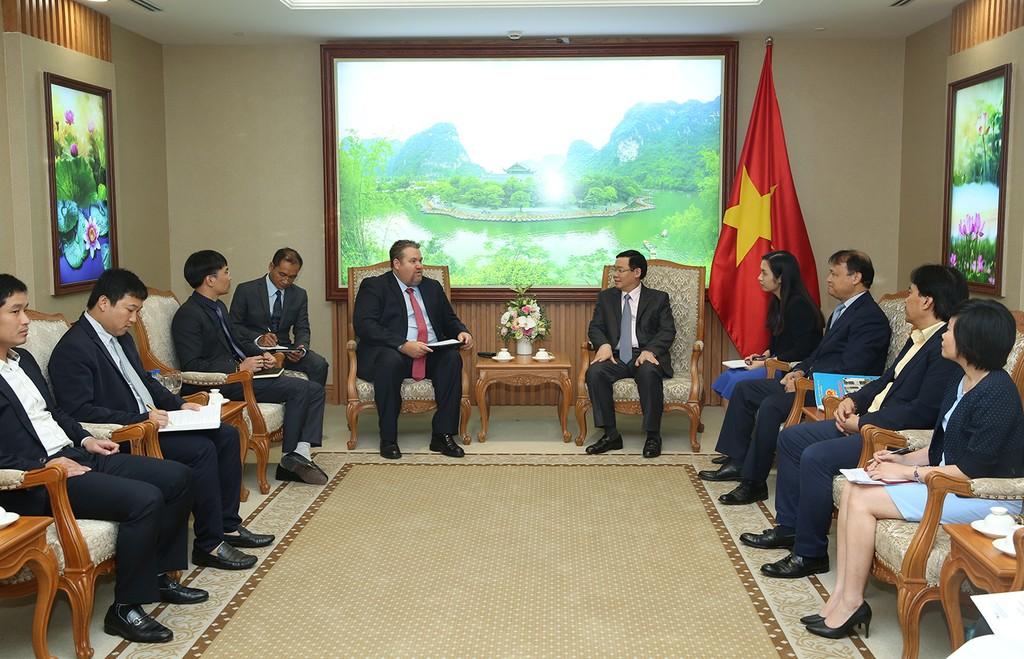 Phó Thủ tướng Vương Đình Huệ tiếp Tổng Giám đốc AES - ảnh 1