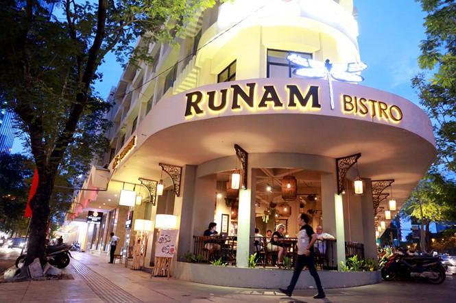 Khu đất số 2 - 4 - 6 Đồng Khởi đang được cho thuê mở nhà hàng, quán cà phê.