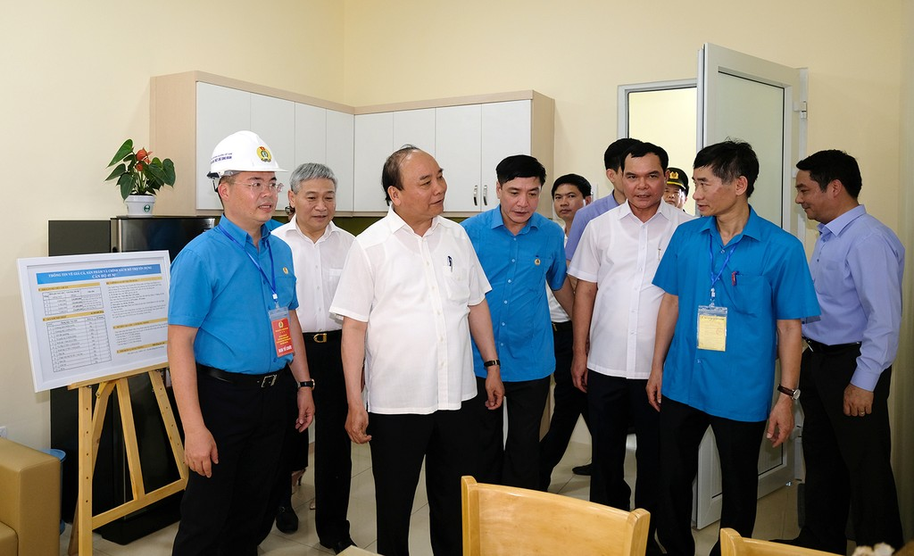 Thủ tướng thăm khu trọ của công nhân tại Hà Nam - ảnh 3