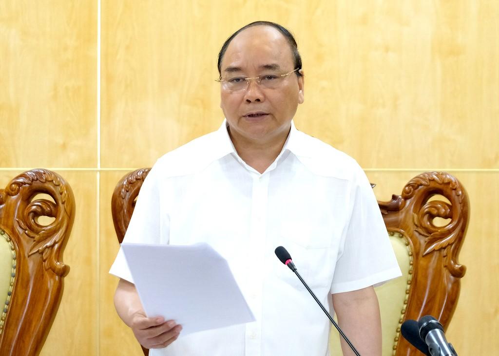 Thủ tướng làm việc với tỉnh Hà Nam - ảnh 1