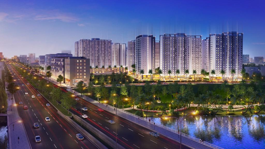 Phối cảnh dự kiến dự án Akari City