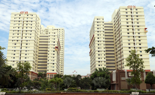 Dự án tái định cư Phú Mỹ.