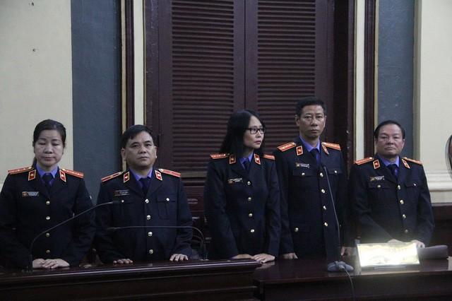 Đại diện Viện KSND TPHCM đề nghị mức án