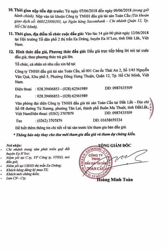 Đấu giá quyền sử dụng đất tại huyện Ea H'leo, Đắk Lắk - ảnh 3